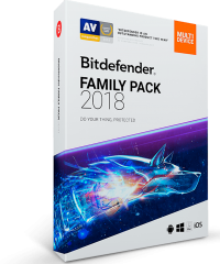 BitDeffender Family Pack 2018