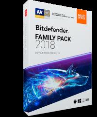 BitDeffender Family Pack 2018