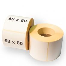 Термоетикетка ЕКО 58х60 460шт чиста